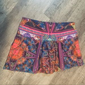 Lucky in Love Colorful Tennis Skort Size Small 4/6